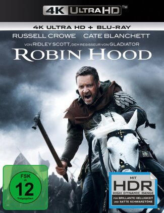 Robin Hood (2010) (Director's Cut, Kinoversion, 4K Ultra HD + Blu-ray)