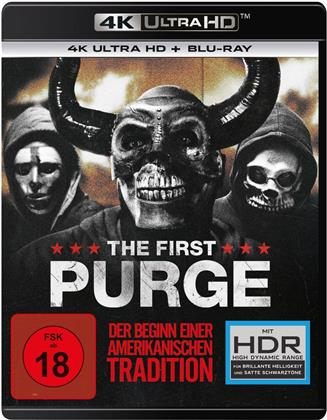 The First Purge (2018) (4K Ultra HD + Blu-ray)