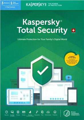 Kaspersky Total Security (3 PC) [PC/Mac/Android]