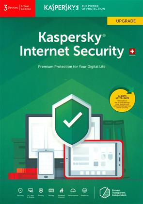Kaspersky Internet Security (3 PC) Upgrade [PC/Mac/Android]