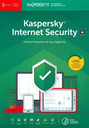Kaspersky Internet Security (5 PC) [PC/Mac/Android]