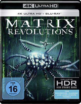 Matrix Revolutions (2003) (4K Ultra HD + Blu-ray)