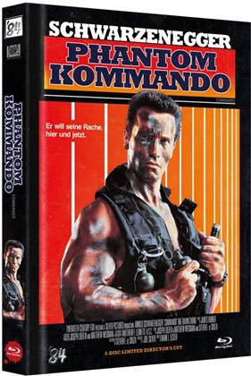 Phantom Kommando (1985) (Cover D, Director's Cut, Limited Edition, Mediabook, Uncut, Blu-ray + DVD)