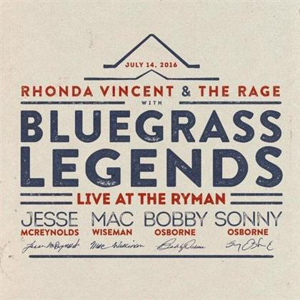Rhonda Vincent & Bluegrass Legends - Live at the Ryman