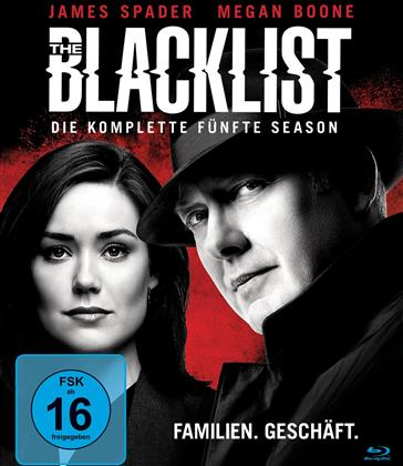 The Blacklist - Staffel 5 (6 Blu-rays)