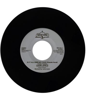 "Loose Joints - Is It All Over My Face - Kon Edit (7"" Single)"