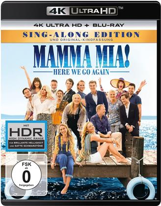 Mamma Mia! 2 - Here We Go Again (2018) (Sing-Along Edition, Kinoversion, 4K Ultra HD + Blu-ray)