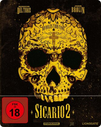 Sicario 2 - Soldado (2018) (Limited Edition, Steelbook)