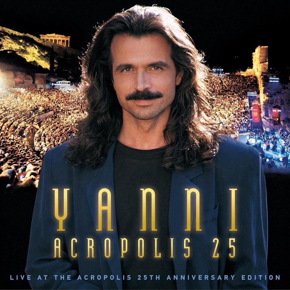 Yanni - Live At The Acropolis (2018 Reissue, CD + DVD + Blu-ray)