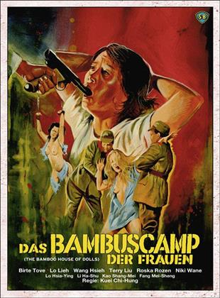 Das Bambuscamp der Frauen (1973) (Cover D, Limited Edition, Mediabook, Uncut, Blu-ray + DVD)