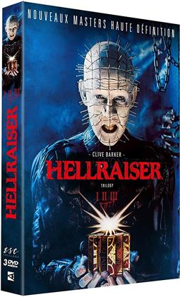 Hellraiser 1-3 - Trilogy (Remastered, 3 DVDs)