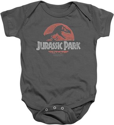 Jurassic Park Baby Body - Faded Logo Bodysuit - Taille 92/98