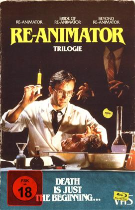 Re-Animator 1-3 (VHS-Edition, Collector's Edition, Limited Edition, 4 Blu-rays)