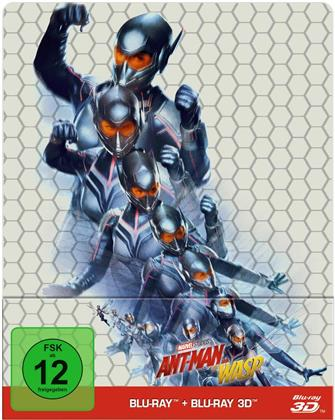 Ant-Man and the Wasp (2018) (Steelbook, Blu-ray 3D + Blu-ray)