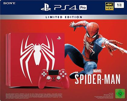 Sony Playstation 4 1TB PRO Spiderman (German Limited Edition)
