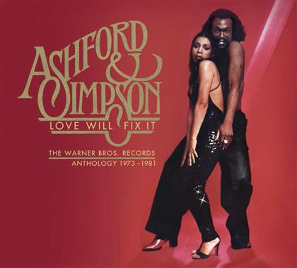 Ashford & Simpson - Love Will Fix It/Anthology 1973-81 (Remastered, 3 CDs)