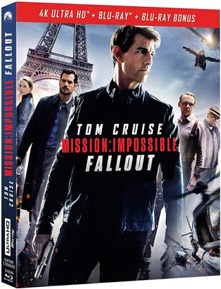 Mission Impossible 6 - Fallout (2018) (4K Ultra HD + 2 Blu-ray)
