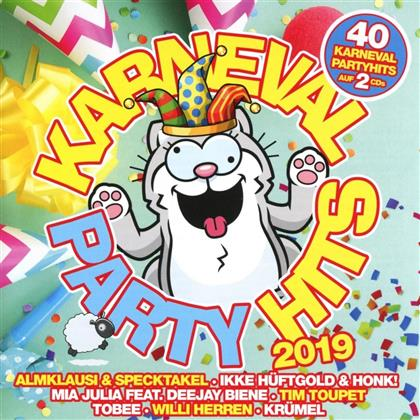 Karneval Party Hits 2019 (2 CDs)