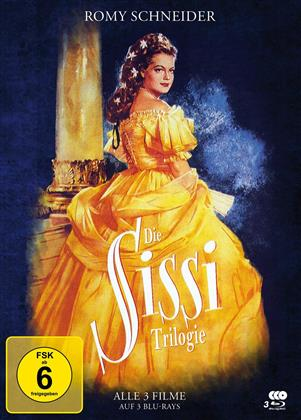 Sissi Trilogie (Limited Edition, Mediabook, Special Edition, 3 Blu-rays)