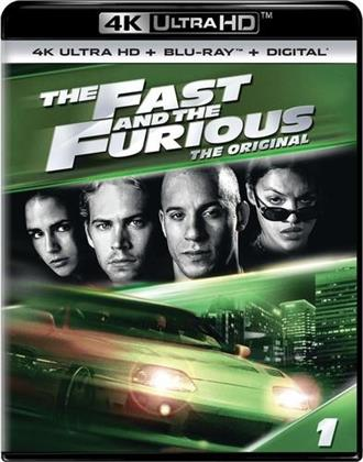 The Fast and The Furious (2001) (4K Ultra HD + Blu-ray)