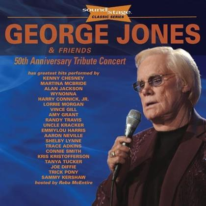 George Jones & & Friends - 50Th Anniversary Tribute Concert: Soundstage (CD + 2 DVDs)