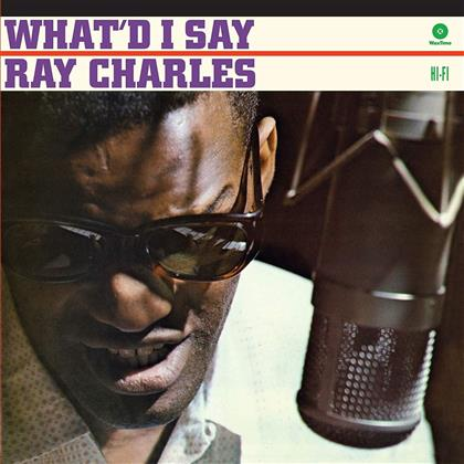Ray Charles - What I'd Say (2018 Limited Waxtime Reissue, Colored, LP)