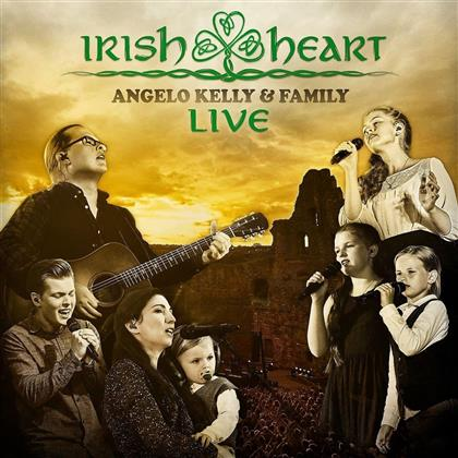 Kelly Angelo & Family - Irish Heart-Live (Limited Boxset, 2 CDs + Blu-ray)