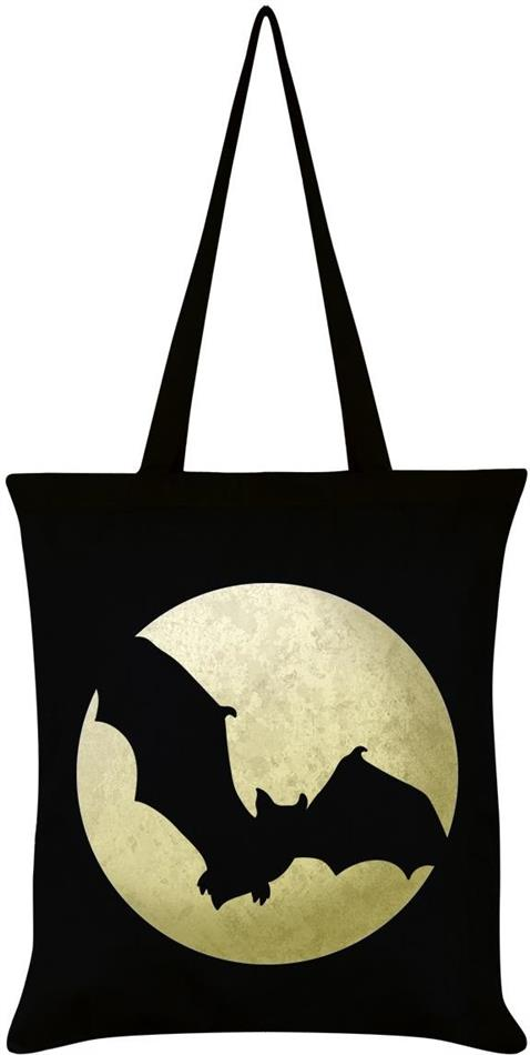 Bat Moon Shopper Bag