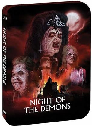 Night Of The Demons (1988) (Limited Edition, Steelbook)