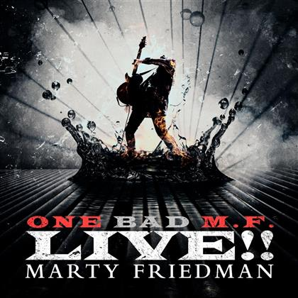 Marty Friedman - One Bad M.F. Live!! (Glow In The Dark Colored Vinyl, 2 LPs)