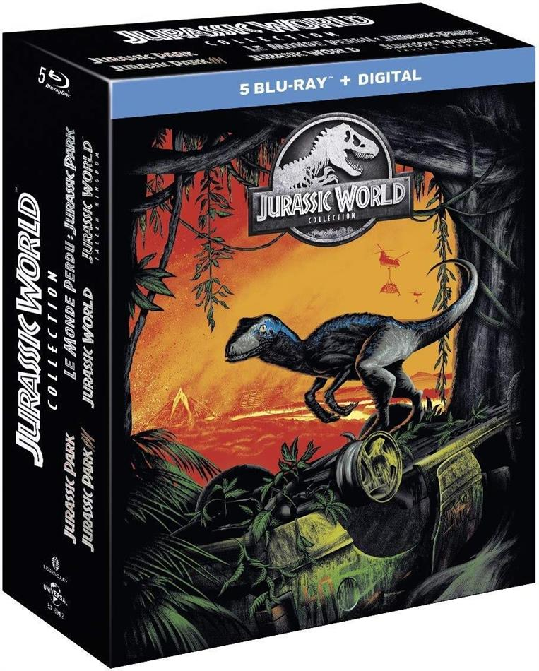 Jurassic World Collection - 5-Movie Collection (5 Blu-ray)