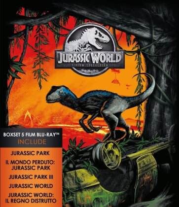 Jurassic World - 5-Movie Collection (5 Blu-ray)
