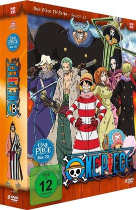 One Piece - TV Serie - Box Vol. 20 (6 DVDs)