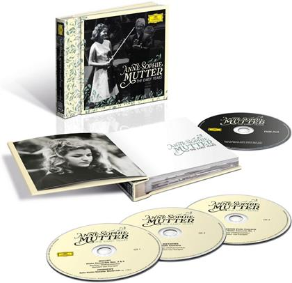 Anne-Sophie Mutter - The Early Years (Limited Edition, 3 CDs + Blu-ray)