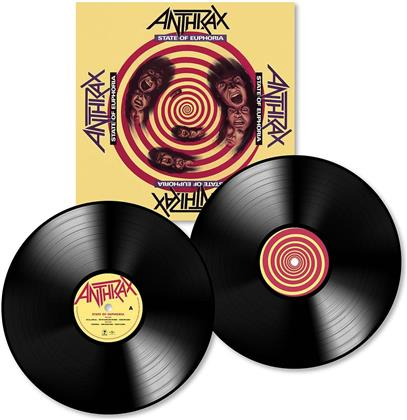 Anthrax - State Of Euphoria (2018 Reissue, 30th Anniversary Edition, 2 LPs)