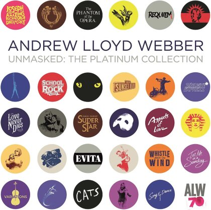 Andrew Lloyd Webber - Unmasked: The Platinum Collection (Limited Edition, 5 LPs)
