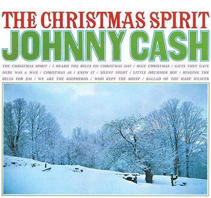 Johnny Cash - Christmas Spirit (2018 Reissue, Gatefold, Friday Music, Limited Edition, Translucent Blue Vinyl, LP)