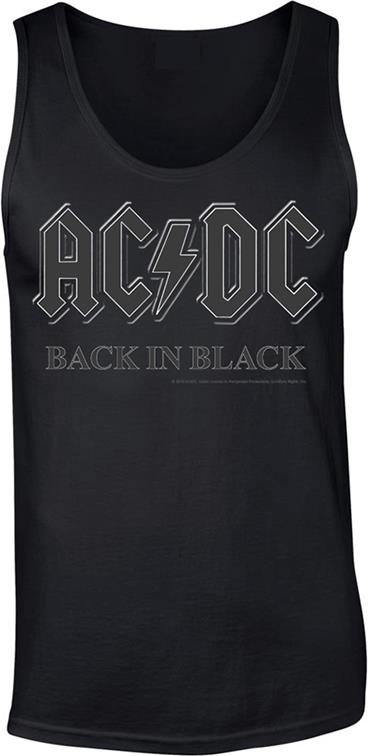 AC/DC - Back In Black - Grösse M