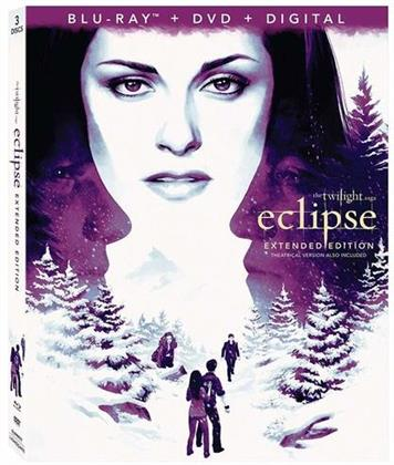 Twilight 3 - Eclipse (2010) (Extended Edition, Blu-ray + DVD)