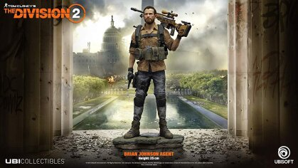 The Division 2 - Brian Johnson Figur