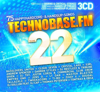 TechnoBase.FM Vol.22 (3 CDs)