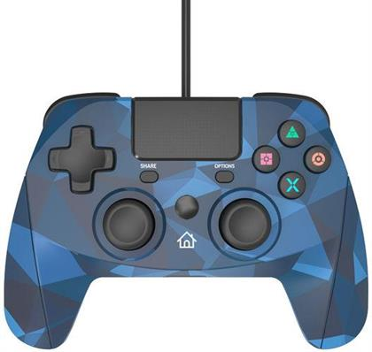 PS4 Controller Game:Pad 4S wirel. camo Snakebyte Bluetooth camo blue