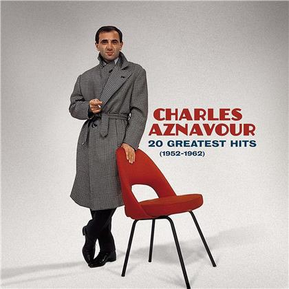 Charles Aznavour - 20 Greatest Hits 1952 - 1962 (LP)