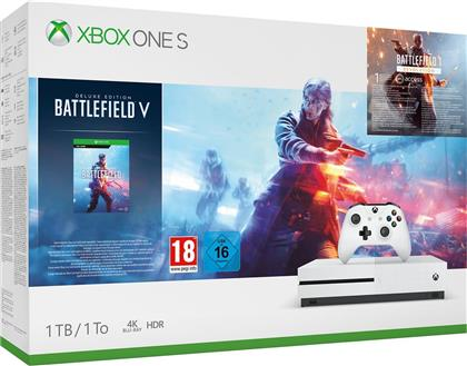XBOX ONE S Console 1TB - Battlefield V Bundle