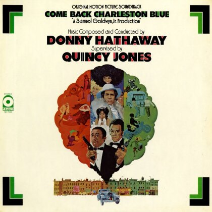 Donny Hathaway - Come Back Charleston Blue - OST (at the movies, LP)