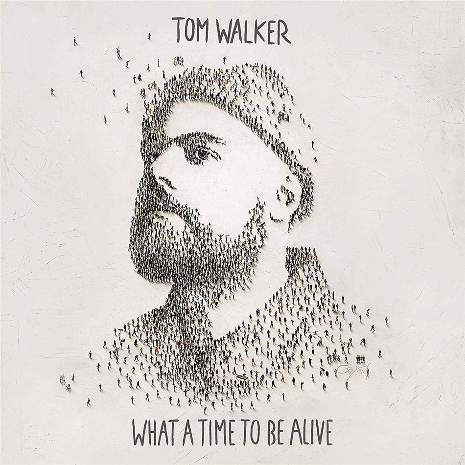 Tom Walker - What A Time To Be Alive (Light Blue Vinyl, LP + Digital Copy)