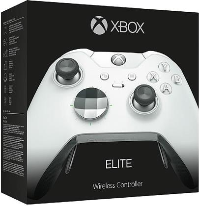 XBOX-One Controller original ELITE Weiß wireless Programmierbar