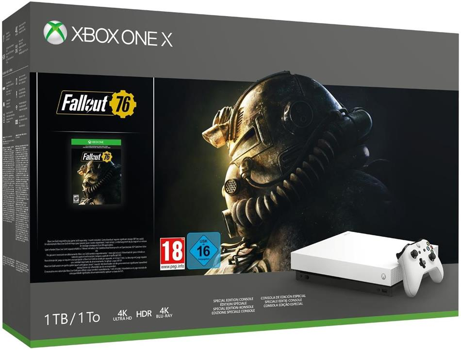 XBOX-One 1TB X weiß + Fallout 76 (Special Edition)