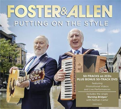 Foster & Allen - Putting On The Style (2 CDs + DVD)