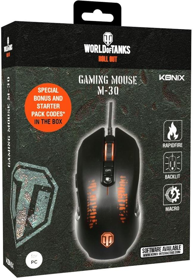 KONIX - World of Tanks Gaming Mouse - M-30 Shooter